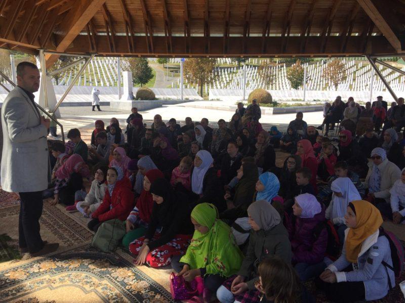 Polaznici mekteba Istiklal posjetili Potočare i Srebrenicu