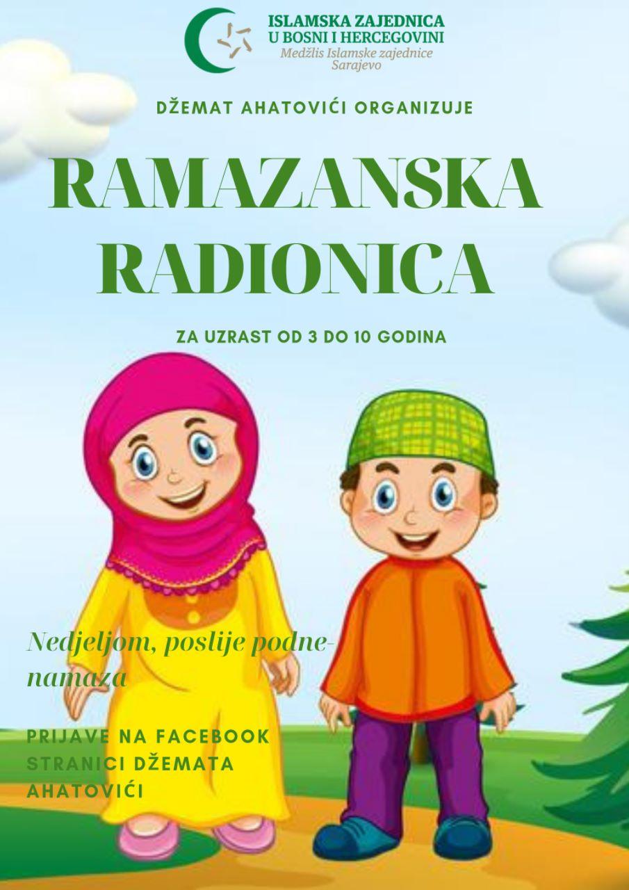 Ramazanska radionica u džematu Ahatovići