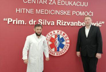 Glavni imam u posjeti Zavodu za hitnu medicinsku pomoć Kantona Sarajevo