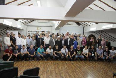 Članovi Mreže mladih Muftijstva sarajevskog na Trećim susretima Mreže mladih Islamske zajednice