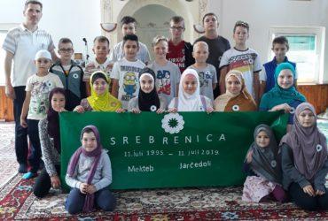 """Džemat Jarčedoli: Radionica """"Sjećanje na Genocid u Srebrenici"""""""