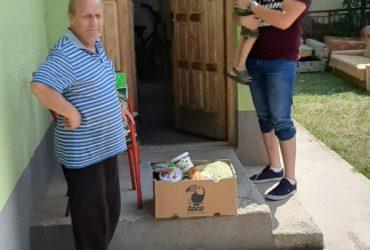 Aktivisti Mreže mladih džemata Hrasnica – džamija posjetom i paketima obradovali socijalno ugrožene