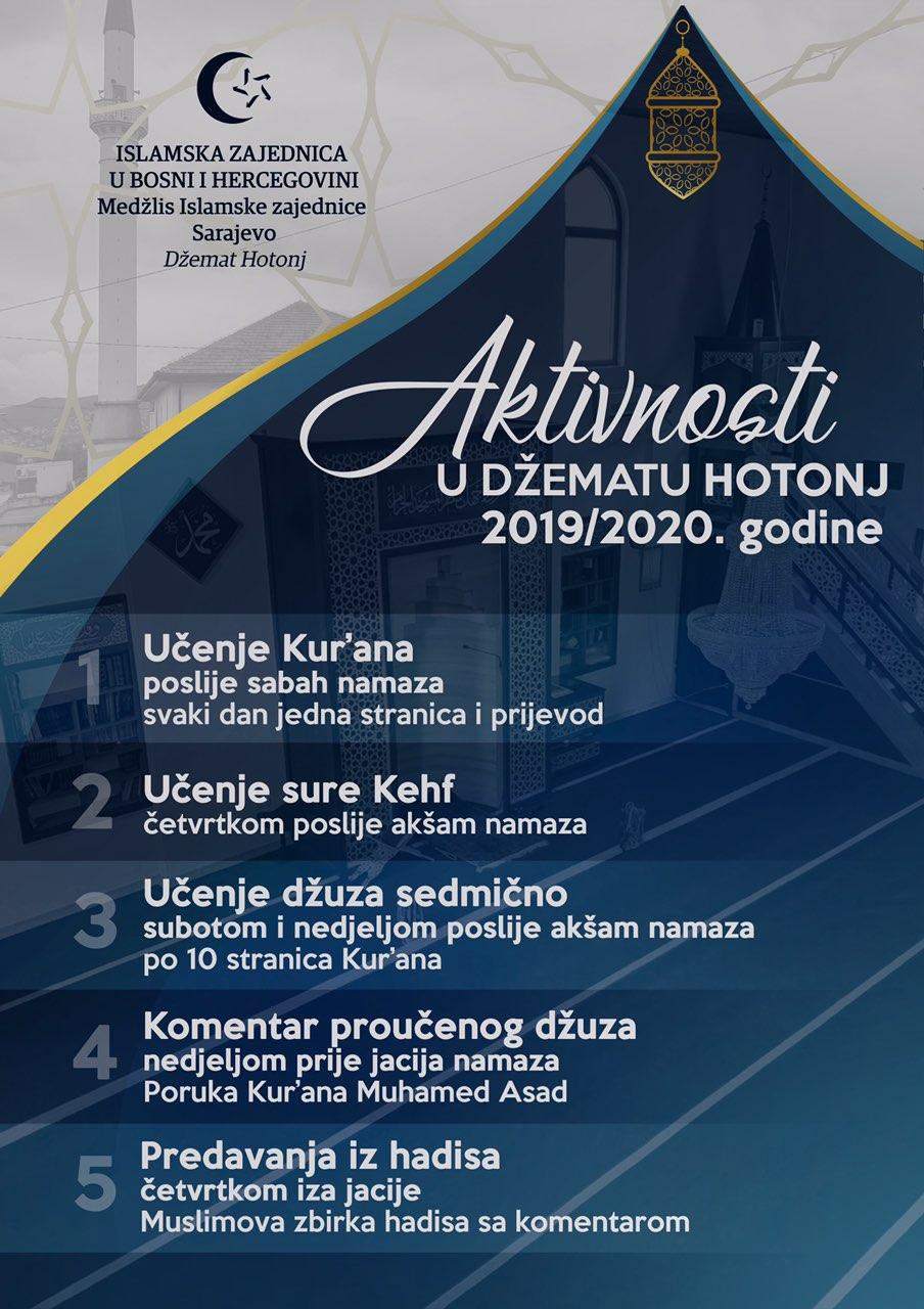 Aktivnosti u džematu Hotonj