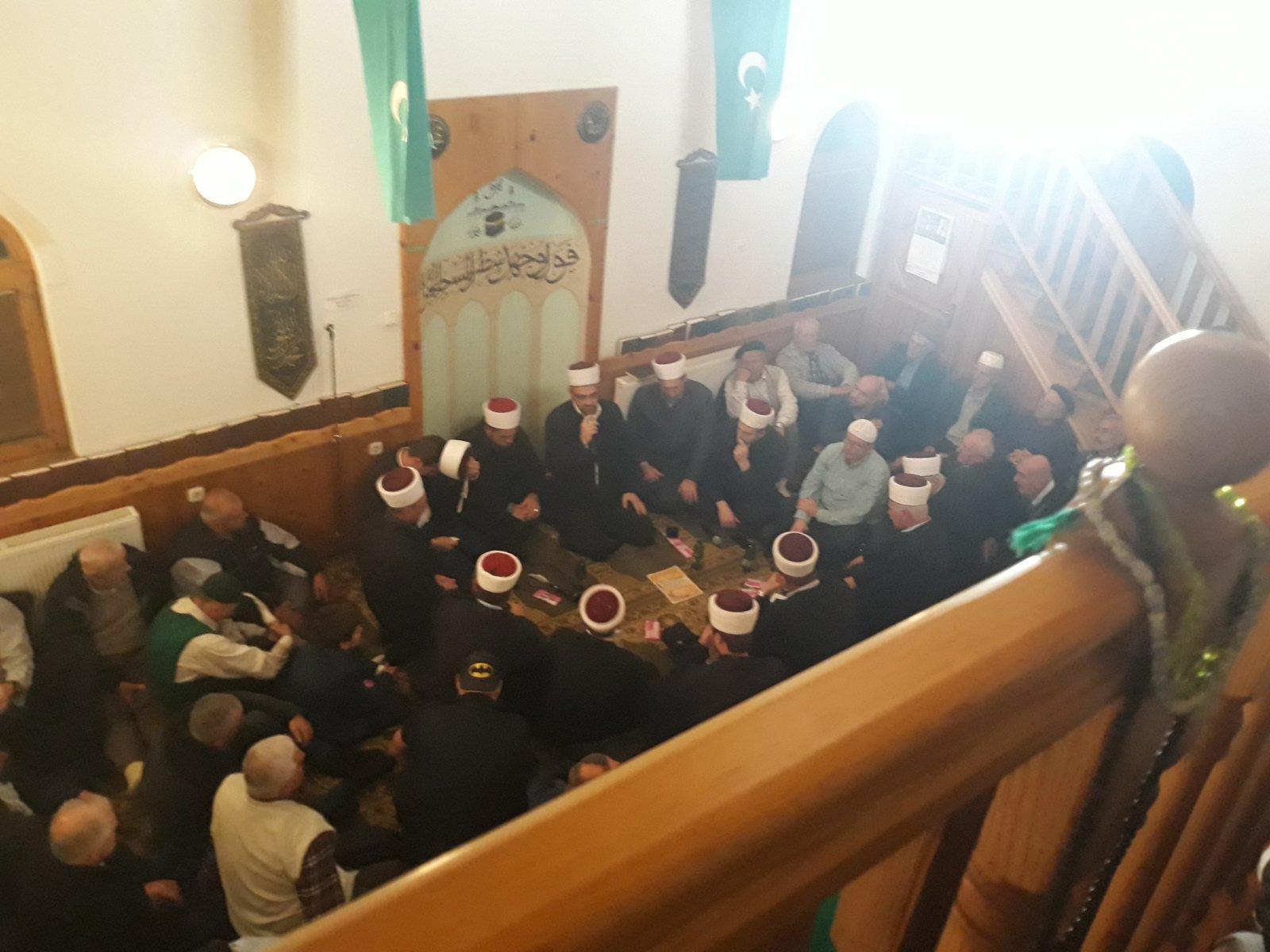 Mevludska svečanost u džematu Raštelica