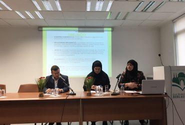 "Seminar za muallime: Predavanje prof.  Amre Abaz o temi  ""Empatija, tolerancija i solidarnost u radu"""