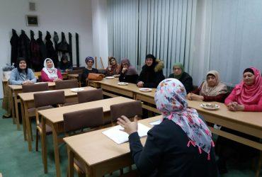 """Džemat Dobrinja 3b: Redovno druženje za žene i radionice za djecu  """"Ustrajnost u ibadetima"""""""