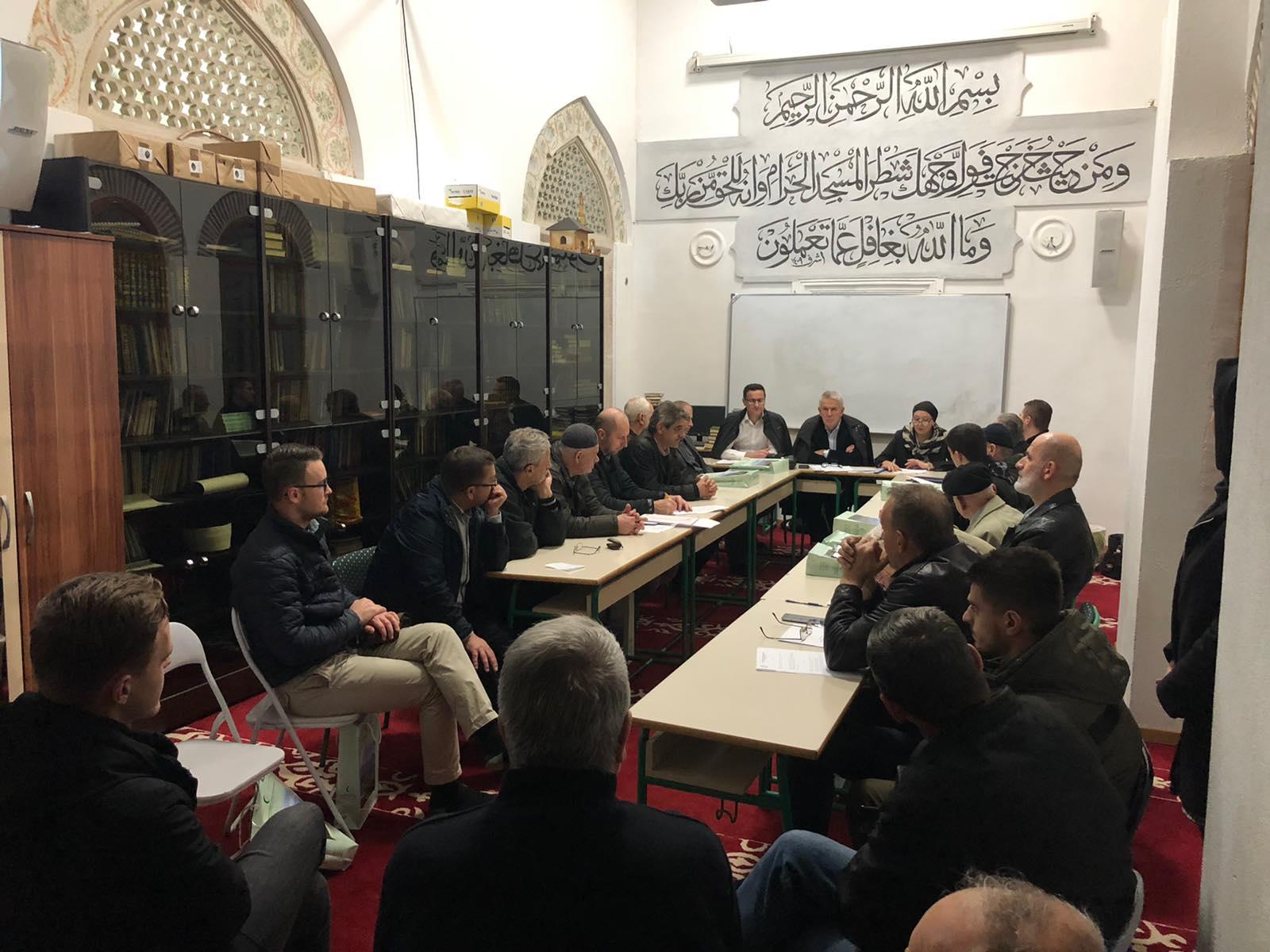 Posjete džematskim odborima i upoznavanje sa novim Pravilnikom o organizaciji i radu medžlisa i džemata