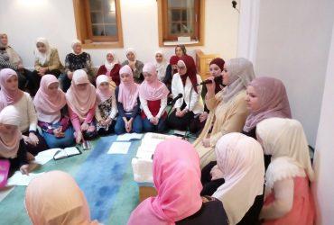 Džemat Sedrenik: Mevludski program za žene održan u džamiji na Grličića brdu