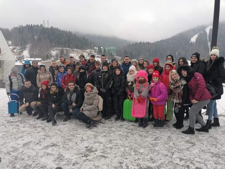 Izlet na Bjelašnicu članova Mreže mladih i mekteblija džemata Briješće Brdo