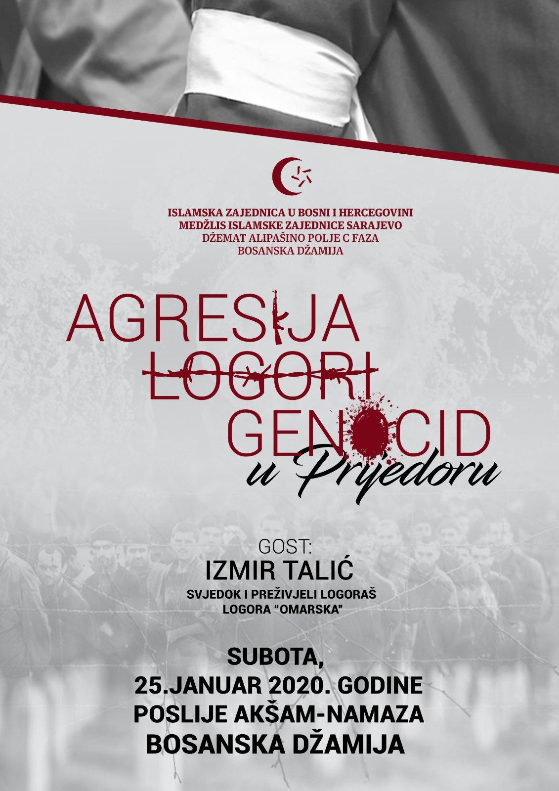 Agresija, logori i genocid u Prijedoru