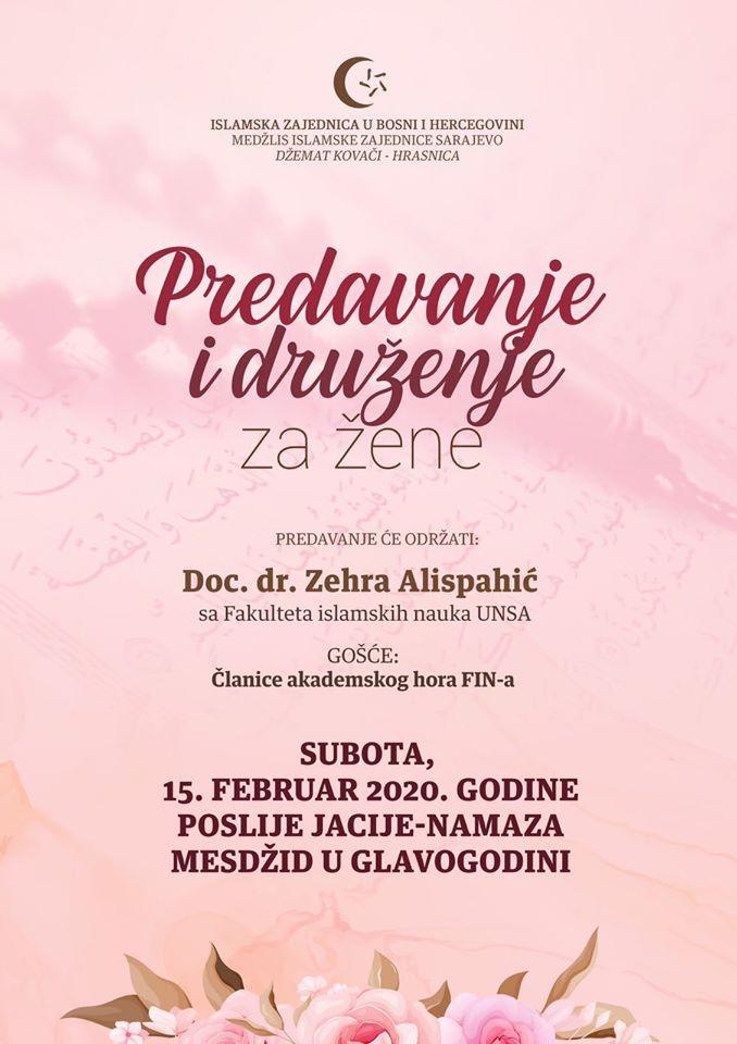 Predavanje i druženje za žene