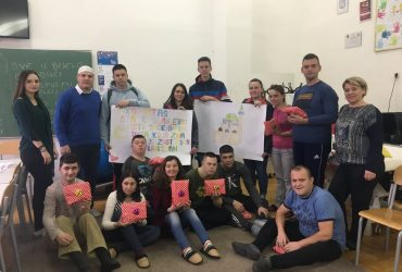 """Mreža mladih džemata Podlugovi posjetila Udruženje """"Budi mi drug"""" u Ilijašu"""
