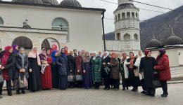 Članice ženskog aktivizma džemata Teftedarin Do, Lubine džamije i Sedrenik posjetile džemat Boljkovac, MIZ Gornji Vakuf
