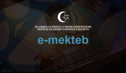 Imami MIZ Sarajevo izvode online mektebsku nastavu putem platforme e-mekteb
