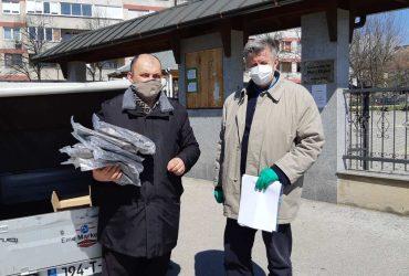 Delegacija MIZ Sarajevo obišla i uručila dezinfekciona sredstva za područne gasulhane te zaštitna odijela za imame/gasale i gasalke
