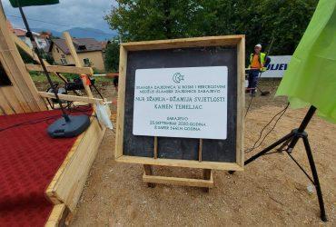Džemat Buća Potok: Postavljen kamen-temeljac za izgradnju Nur džamije