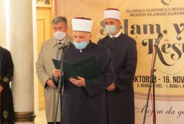 Mevludska poruka muftije sarajevskog: Lijepa riječ mehlem je za srca i duše