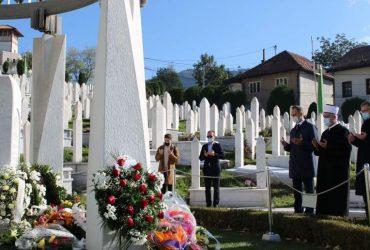 Reisu-l-ulema posjetio mezar predsjednika r. Alije Izetbegovića