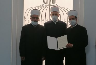 Džemat Binježevo: Uručen dekret novom imamu mr. Sakib-ef. Lepiću