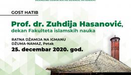 Ratna džamija na Igmanu: Gost hatib prof. dr. Zuhdija Hasanović, dekan Fakulteta islamskih nauka u Sarajevu