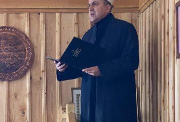 Mr. Meho-ef. Šljivo održao hutbu u Ratnoj džamiji na Igmanu: Nema uspjeha bez bereketa