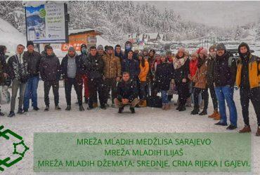 Zajednički izlet na Bjelašnicu aktivista Mreže mladih ilijaških džemata