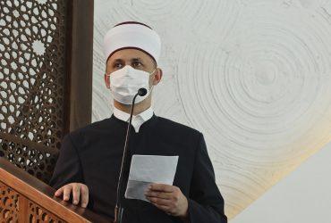 Glavni imam MIZ-a Sarajevo dr. Abdulgafar-ef. Velić održao hutbu u Centralnoj džamiji na Ilidži