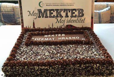 Džemat Hrasno: Organiziran iftar za polaznike mektebske nastave