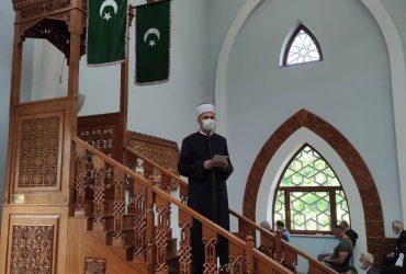 Glavni imam predvodio bajram-namaz u Istiklal džamiji: Bajram je naš novi početak