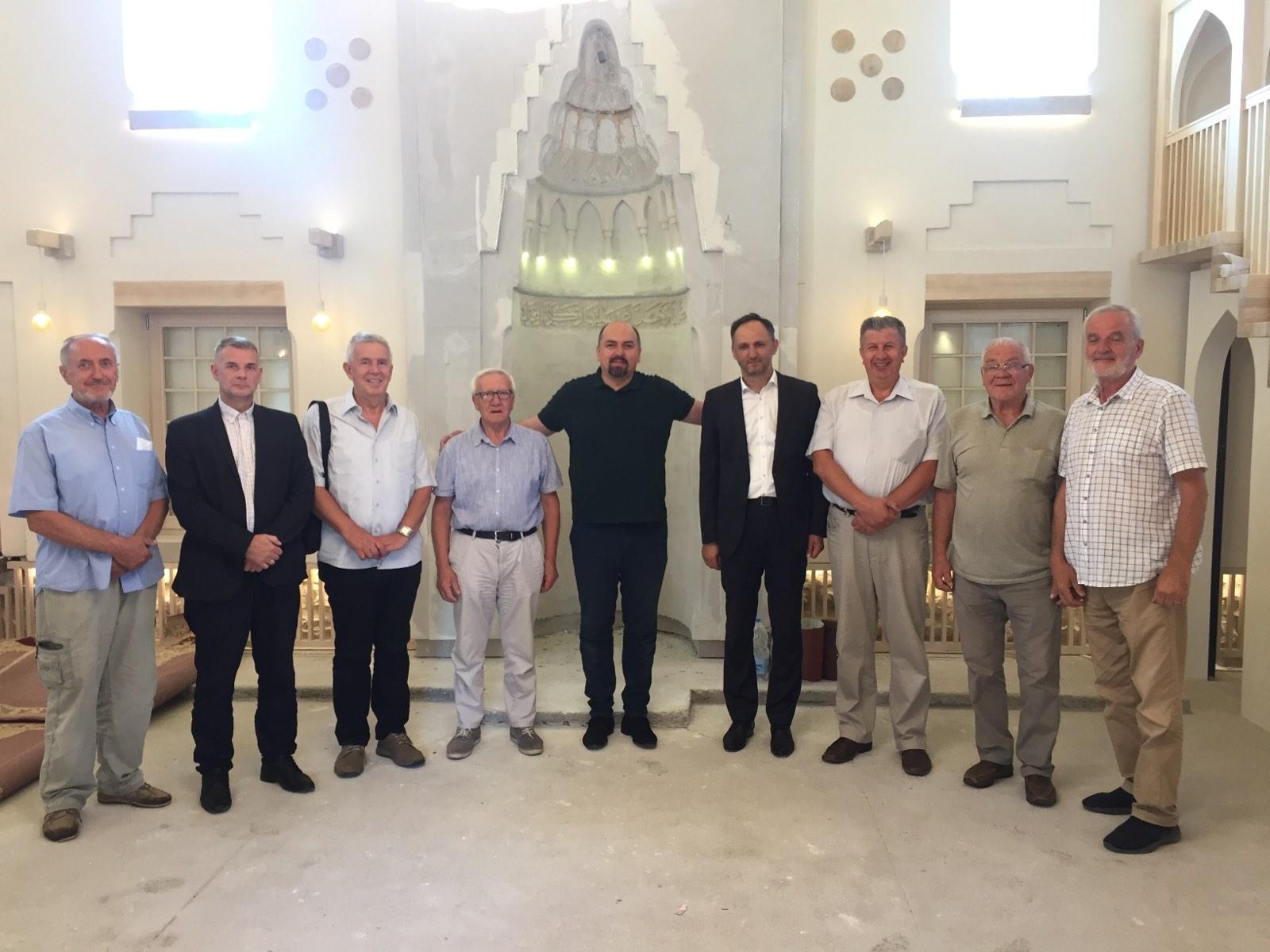 Rukovodstvo MIZ Sarajevo posjetilo Lubinu džamiju
