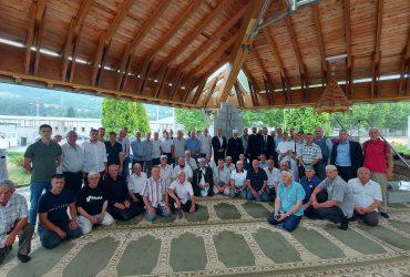 MIZ Sarajevo upriličio posjetu Srebrenici mutevelija i inksanata sarajevskih džemata