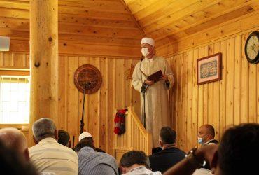 Hutba muftije Remzije Pitića u Igmanskoj džamiji
