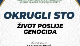 Okrugli sto: Život poslije genocida