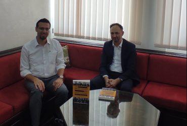 Glavnog imama posjetio prof. dr. Ajdin Huseinspahić