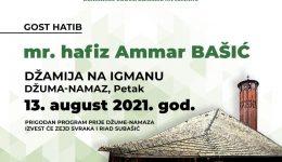 Igmanska džamija: Gost hatib mr. hafiz Ammar-ef. Bašić