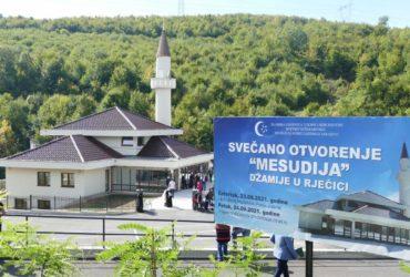 """U Rječici svečano otvorena džamija """"Mesudija"""""""