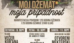 """Džemat Stari Ilijaš: Manifestacija """"Moj džemat, moja pripadnost"""" počinje u četvrtak Večeri Kur'ana"""