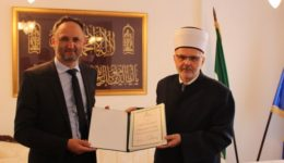 Muftija sarajevski uručio zahvalnice za doprinos radu Mreže mladih
