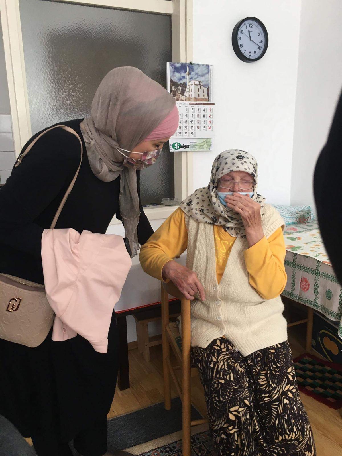 Društvena briga: Organizirane posjete starijim džematlijama