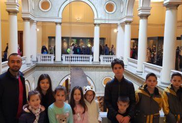 Džemat Čobanija: Mekteblije sa svojim muallimom posjetile Zemaljski muzej