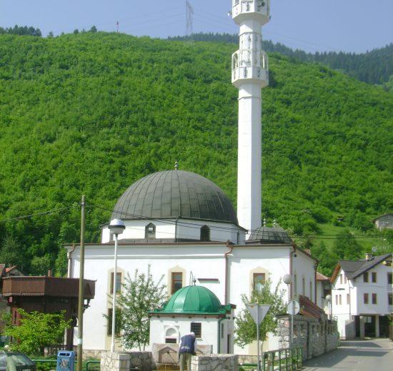 centralna džamija u Hrasnici