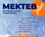 plakat MEKTEB PLUS - 2019