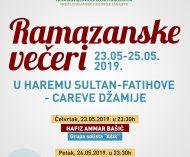 ramazanske veceri 2019